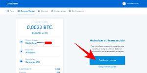 comprar bitcoin de forma segura en Coinbase