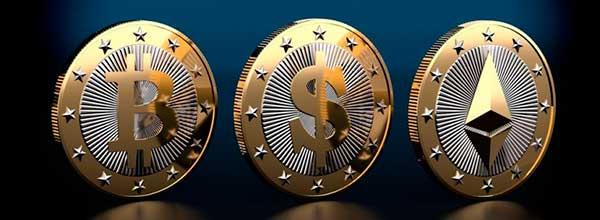 criptomonedas: Bitcoin, Etherium, Litecoin